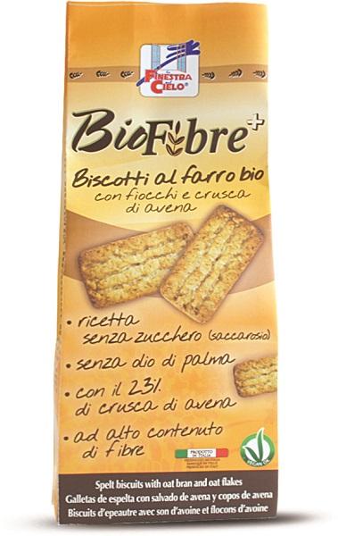 FINESTRA SUL CIELO Biscotti Farro Avena Biofibre