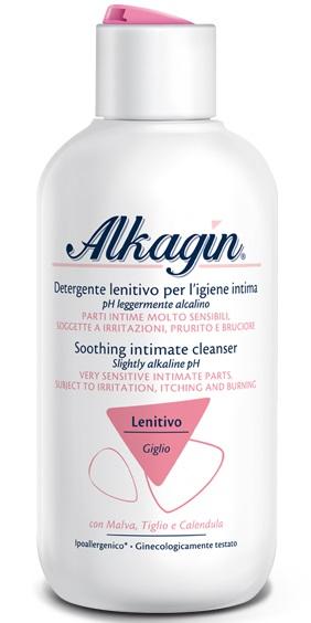 Alkagin Detergente Intimo Lenitivo con pH Leggermente Alcalino 250ml