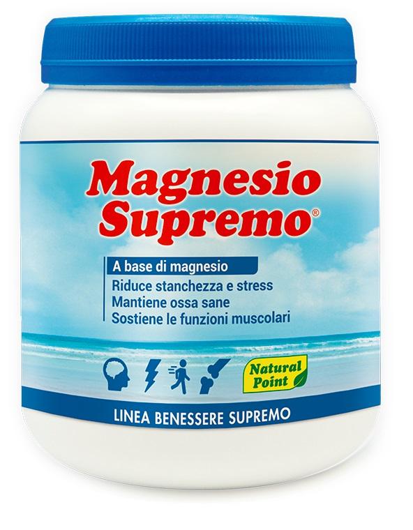 Natural Point Integratore Alimentare Magnesio Supremo 300gr