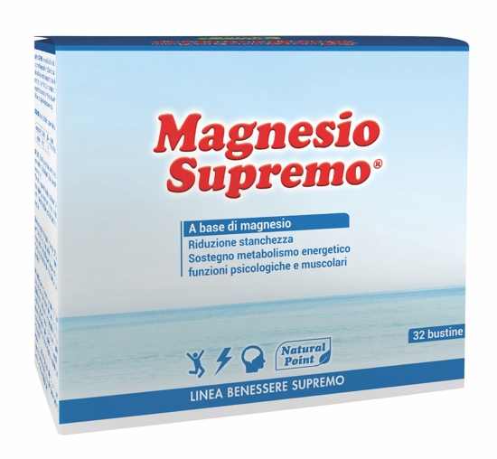 Natural Point Integratore Alimentare Magnesio Supremo 32 buste