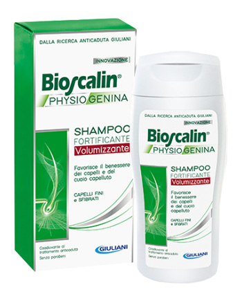 Bioscalin Physiogenina Shampoo Fortificante Volumizzante 200ml