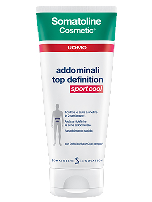 Somatoline Snellente Addominali Top Definition Sport Cool 200ml
