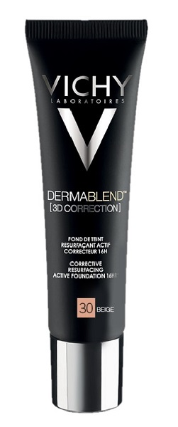 Vichy Dermablend 3D 30 Fondotinta Correttore Beige 30 ml