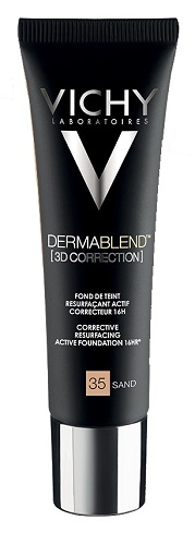 Vichy Dermablend 3D 35 Fondotinta Correttore Sand 30 ml