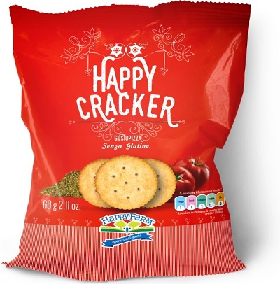 HAPPY FARM HAPPY CRACKERS PIZZ