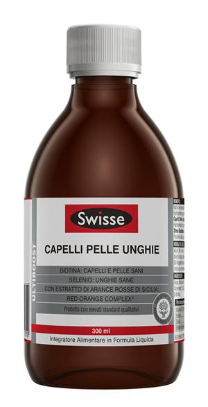 Swisse Capelli Pelle Unghie 300 ml Integratore Alimentare