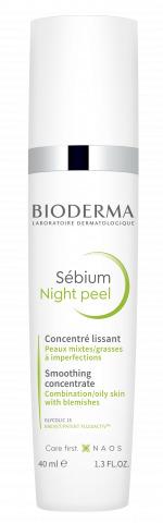 Bioderma Sebium Night Peel Peeling Notturno Pelle Mista o Acneica 40ml