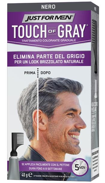 Touch of Gray Trattamento Colorante per Uomo Nero 40 ml